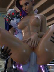 Sombra and Widowmaker