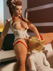 Brigitte and Mercy