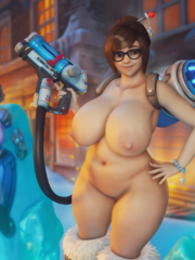 Mei, Sombra, Tracer and Widowmaker